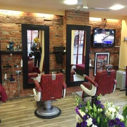 Inside The Barber Shop Group's High Wycombe salon