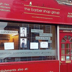 The first Barber Shop Group salon in Wendover