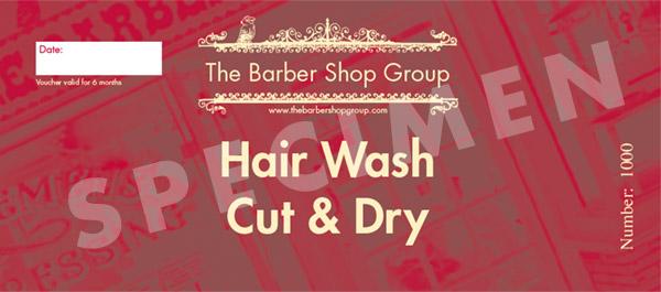 Hair Wash, Cut & Dry Gift Voucher