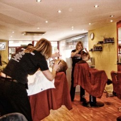 A busy day at a Barber Shop Group salon