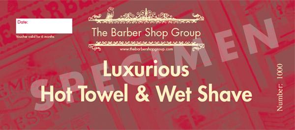 Wet Shave Gift Voucher