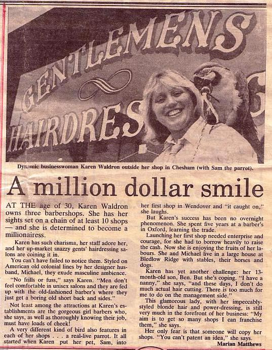 A Million Dollar Smile Article