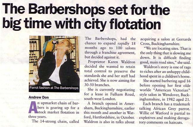 City Flotation Article