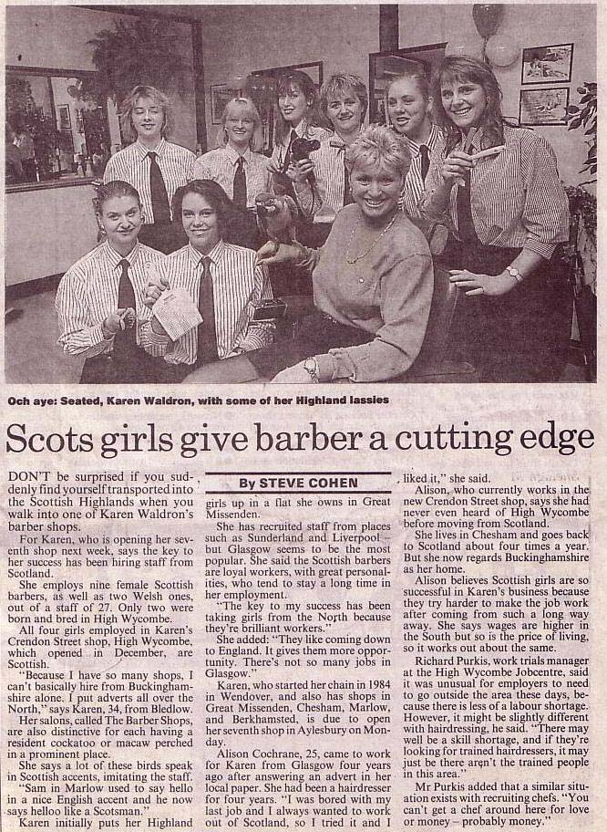 Scots Girls Article